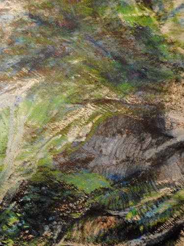 Christine Steeb, Fische, Tiere: Wasser, Natur: Wasser, Abstrakte Kunst, Abstrakter Expressionismus