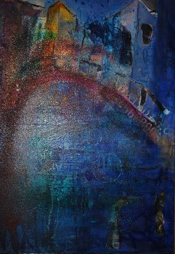 Christine Steeb, Coming home, Fantasie, Gefühle: Geborgenheit, Gegenwartskunst