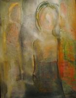 Christine-Steeb-Menschen-Menschen-Gruppe-Gegenwartskunst-Gegenwartskunst