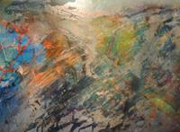 Christine-Steeb-Abstraktes-Fantasie-Moderne-Abstrakte-Kunst
