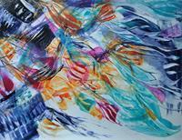 Christine-Steeb-Fantasie-Abstraktes-Gegenwartskunst-Gegenwartskunst