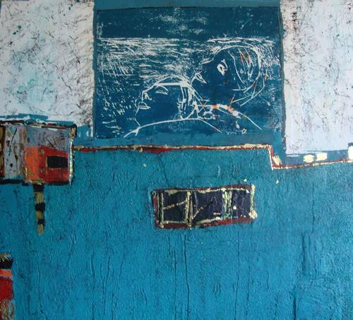 Heidrun Becker, Miteinander, Gefühle, Fantasie, Abstrakte Kunst, Expressionismus