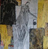 Heidrun-Becker-Menschen-Modelle-Fantasie-Moderne-Abstrakte-Kunst