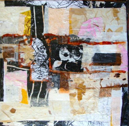Heidrun Becker, Kreuz, Glauben, Abstrakte Kunst