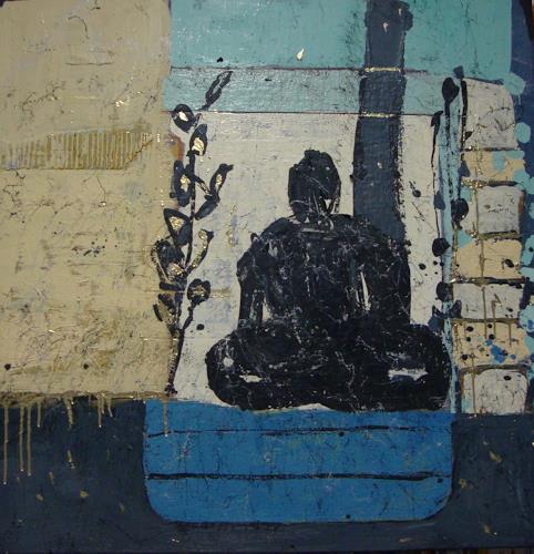 Heidrun Becker, Zen Meditation, Abstraktes, Abstraktes, Abstrakte Kunst