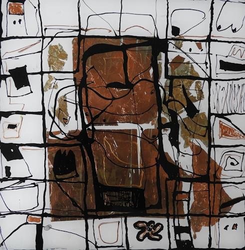 Heidrun Becker, Geschichten, Abstraktes, Menschen, Abstrakte Kunst, Abstrakter Expressionismus