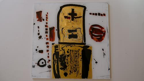 Heidrun Becker, Andacht, Abstraktes, Abstraktes, Abstrakte Kunst