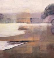 Rosemarie-Salz-Landschaft-Moderne-Abstrakte-Kunst