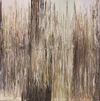 Rosemarie-Salz-Pflanzen-Pflanzen-Moderne-Abstrakte-Kunst