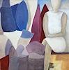 Rosemarie Salz, Kubistische Landschaft 1