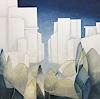 Rosemarie Salz, Kubistische Landschaft 2