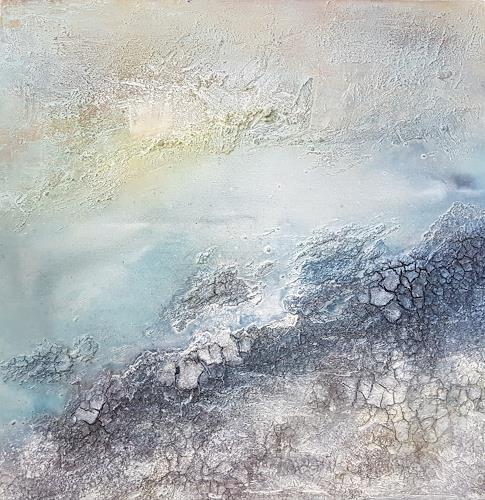Marina Kowalski, Nordische Landschaft, Abstraktes, Abstrakte Kunst