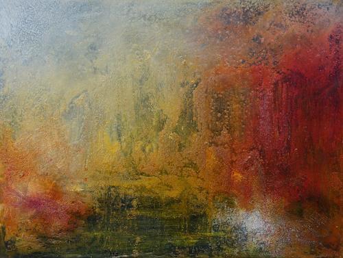 Marina Kowalski, O/T, Abstraktes, Abstrakte Kunst, Expressionismus