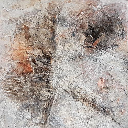 Marina Kowalski, Versteinert II, Abstraktes, Abstrakte Kunst