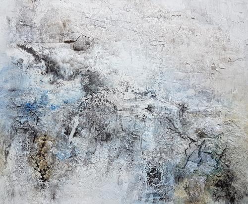 Marina Kowalski, Frozen, Abstraktes, Abstrakte Kunst