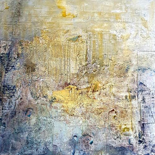 Marina Kowalski, Hoffnung, Abstraktes, Abstrakte Kunst, Expressionismus