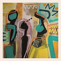 Maria-Martin-Mythologie-Menschen-Gruppe-Moderne-Art-Deco