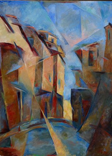 Monika Dold, Belforte, Architektur, Bauten: Haus, Abstrakte Kunst, Expressionismus
