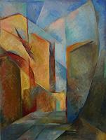 Monika-Dold-Bauten-Haus-Architektur-Moderne-Impressionismus