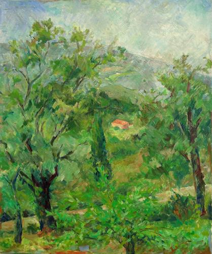 Monika Dold, Grüne Toskana, Natur: Erde, Landschaft: Sommer, Impressionismus