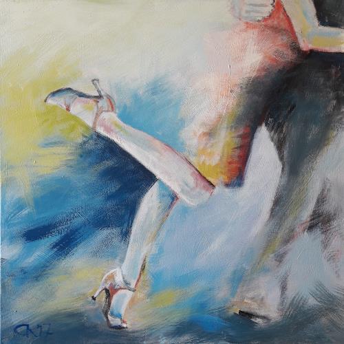 Caroline Roling, boleo 1, Menschen: Paare, Gegenwartskunst, Expressionismus
