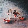 Caroline Roling, zapatos