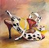 Caroline Roling, meine Tangoschuhe 3, Fashion, Gegenwartskunst