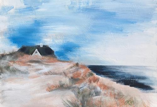 Caroline Roling, Kliffende, Landschaft: See/Meer, Gegenwartskunst
