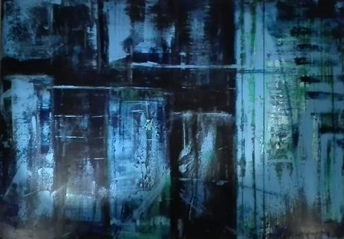 ElisabethFISCHER, O.T., Abstraktes, Diverses, Abstrakte Kunst, Abstrakter Expressionismus