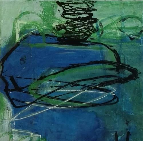 ElisabethFISCHER, O.T., Abstraktes, Abstraktes, Abstrakte Kunst, Abstrakter Expressionismus