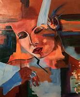 Vicky-Fuchs-Menschen-Menschen-Frau-Moderne-Abstrakte-Kunst