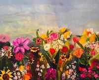 Vicky-Fuchs-Pflanzen-Pflanzen-Blumen-Gegenwartskunst-Gegenwartskunst