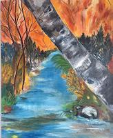 Vicky-Fuchs-Landschaft-Landschaft-Herbst-Gegenwartskunst-Gegenwartskunst