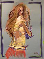 Vicky-Fuchs-Menschen-Frau-Akt-Erotik-Akt-Frau-Moderne-Abstrakte-Kunst