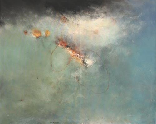 Raini Haupt, ohne Spuren gehen, Abstraktes, Abstrakte Kunst, Expressionismus