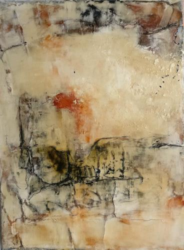 Andrea Titscherlein, das Kleine im Großen, Abstraktes, Diverse Landschaften, Informel
