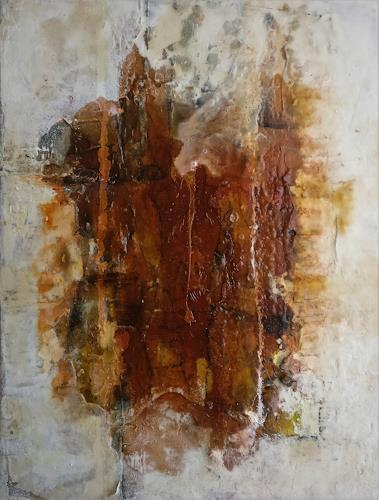 Andrea Titscherlein, das Kleine im Großen, Abstraktes, Diverse Landschaften, Informel, Abstrakter Expressionismus