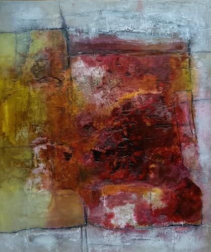 Andrea Titscherlein, nah beieinander, Abstraktes, Abstraktes, Abstrakte Kunst, Expressionismus