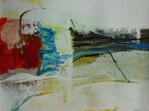 Andrea Titscherlein, kleine Landschaft, Diverse Landschaften, Gegenwartskunst