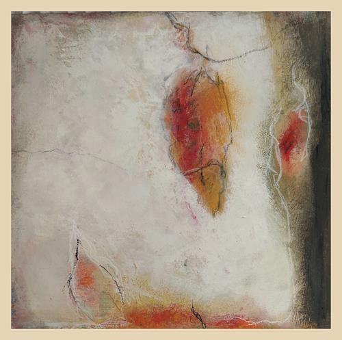 Andrea Titscherlein, kleiner Herbstgruß, Diverse Pflanzen, Abstrakte Kunst