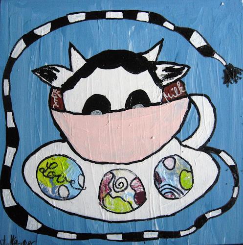 Andrea Kasper, Dann bin ich in die Tasse geklettert..., Humor, Diverses, Minimal Art