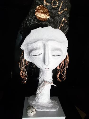 Andrea Kasper, Die Träumerin, Diverses, Fantasie, Konkrete Kunst, Abstrakter Expressionismus