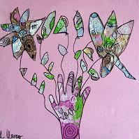 Andrea-Kasper-Abstraktes-Pflanzen-Blumen-Moderne-Abstrakte-Kunst