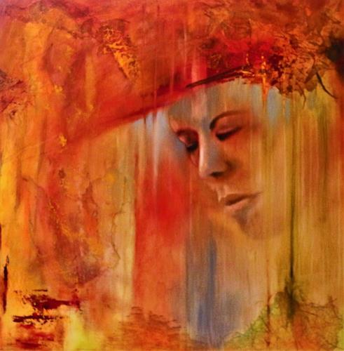 Beatrice Gugliotta, Herbst, Menschen: Frau, Natur: Diverse, Moderne, Expressionismus