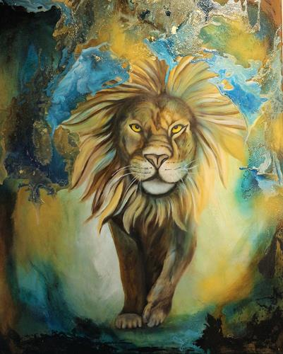 Beatrice Gugliotta, lion king, Tiere: Land, Natur, Moderne