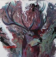 Beatrice-Gugliotta-Tiere-Natur-Moderne-Andere-Neue-Figurative-Malerei