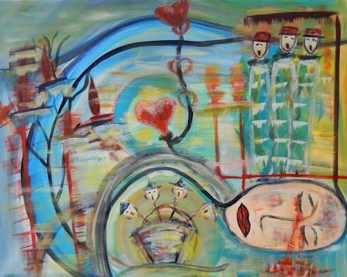 BRIGITTE, LIEBE GLAUBE HOFFNUNG, Menschen, Abstraktes, Abstrakte Kunst