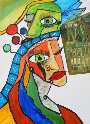 BRIGITTE, SO, Skurril, Abstraktes, Abstrakte Kunst