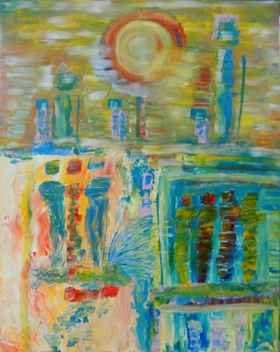 BRIGITTE, LIEBE - GLAUBE - HOFFNUNG, Menschen, Abstraktes, Abstrakte Kunst