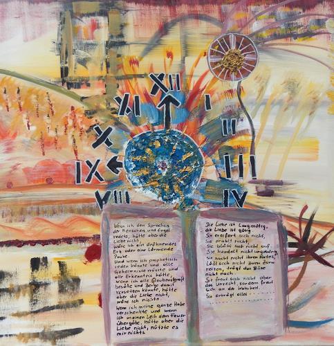 BRIGITTE, LIEBE - GLAUBE - HOFFNUNG, Abstraktes, Zeiten, Abstrakte Kunst